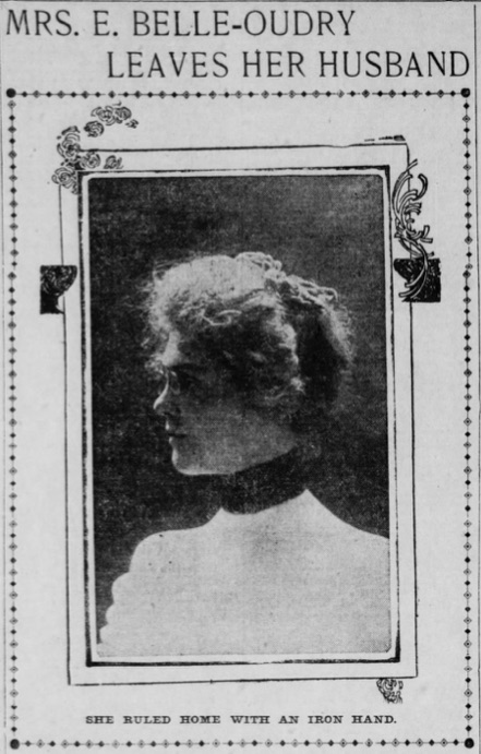 1900 Gertrude Belle Oudry