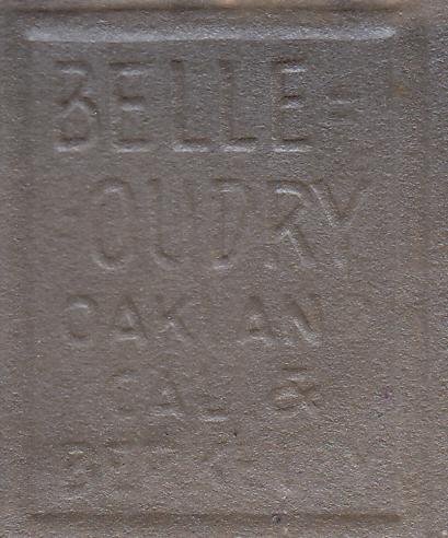 Belle-Oudry studio stamp logo