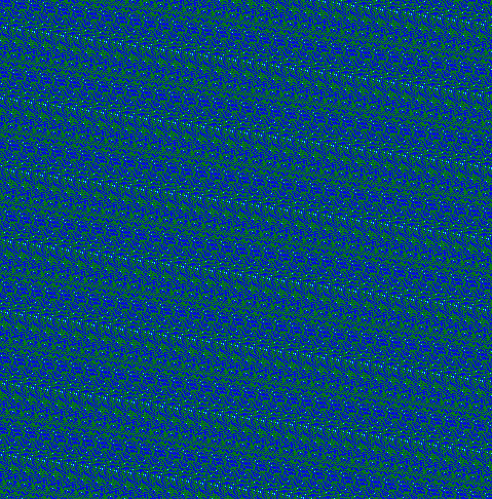 Cyclartcy: Arbitrary flowers RGB BGC