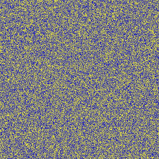 513x513 random colored grid