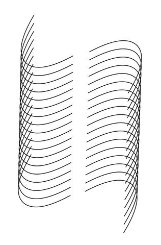 catenary illusion